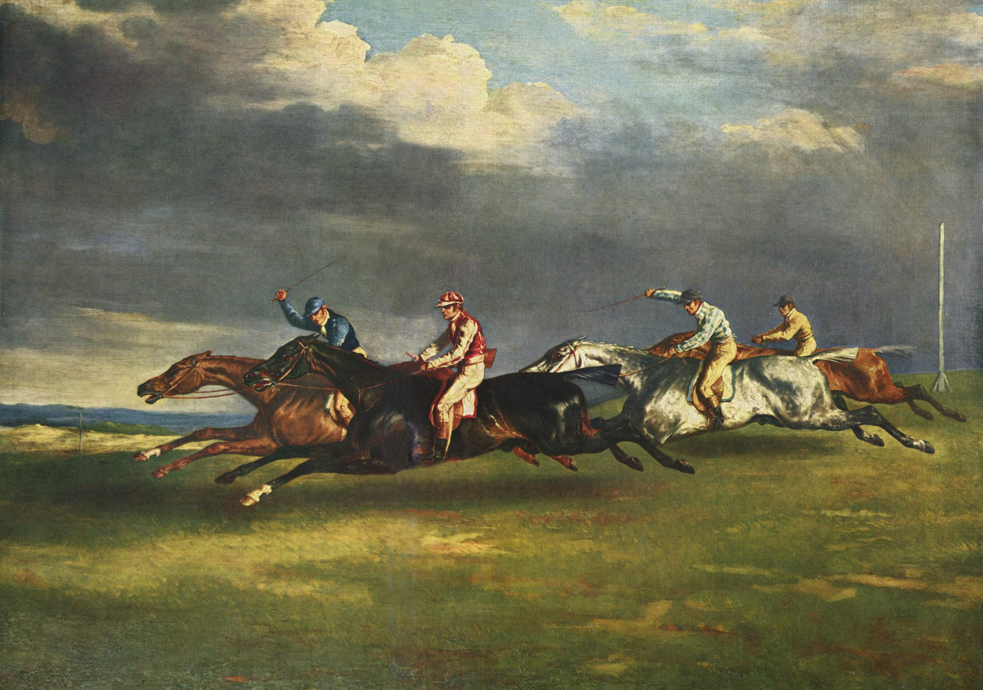 The Derby by Gericault
