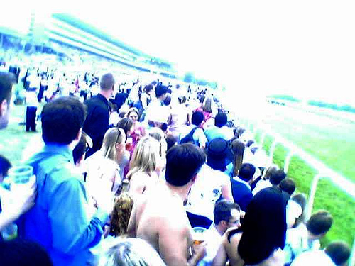 Crowd at Ascot