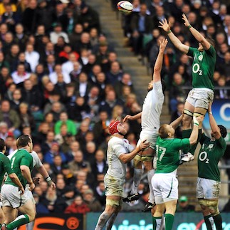 England v Ireland - Lineout