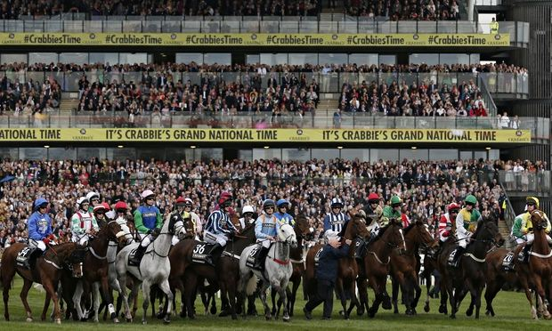 Aintree racing Grand National