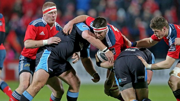 Glasgow Warriors and Munster