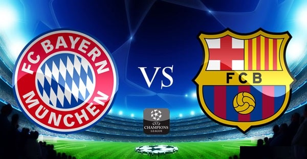 Bayern Barcelona Football