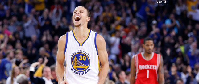 Warriors Rockets NBA