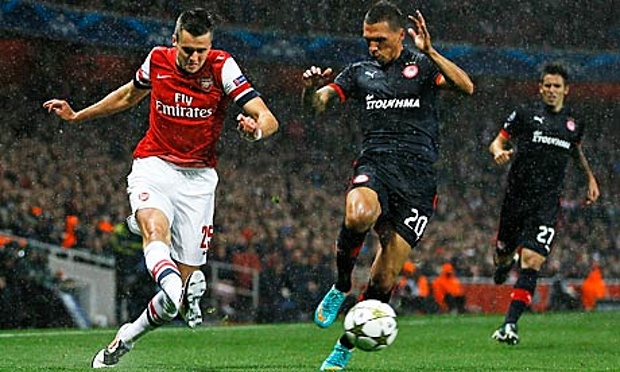 Olympiakos v Arsenal Champions League Match Preview