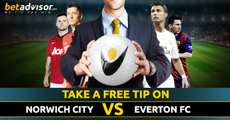orwich City FC​ v Everton Free Football Tip