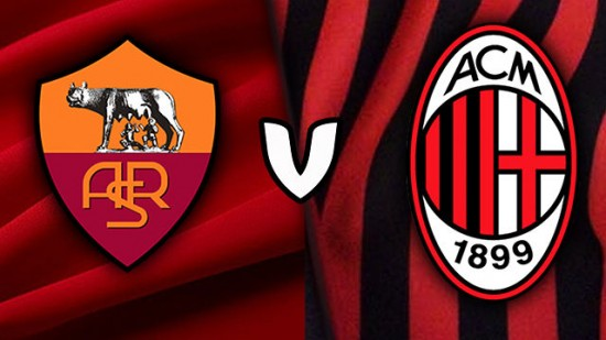 Roma v Milan Serie A Match Preview