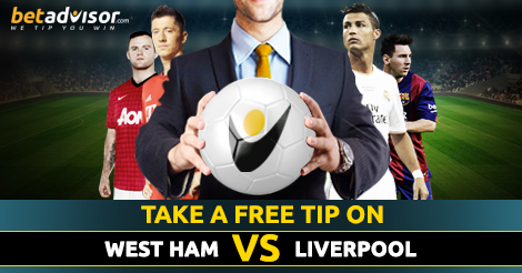 West Ham v Liverpool Betting Tips and Prediction