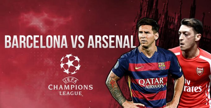 Barcelona v Arsenal Champions League Match Preview