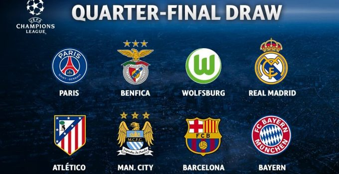 Champions League Quarter-Final Preview