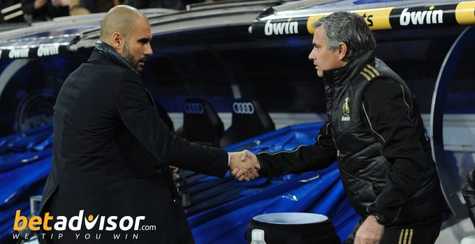 Friends Re-United: Mourinho & Guardiola set to renew their fierce rivalry