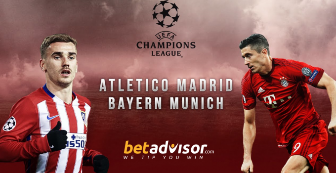 Atletico Madrid V Bayern Munich, Champions League Match Preview, Weds 28/09/16