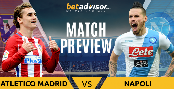 Atletico Madrid vs Napoli